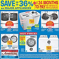 Advertised Appliances Offers