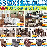 Advertised Furniture Offers