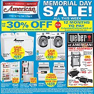 Advertised Appliance Offers