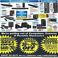 Advertised Home & Car Audio Offers