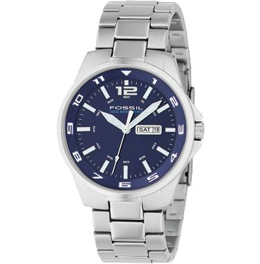 Fossil AM4145 Analog Blue Dial
