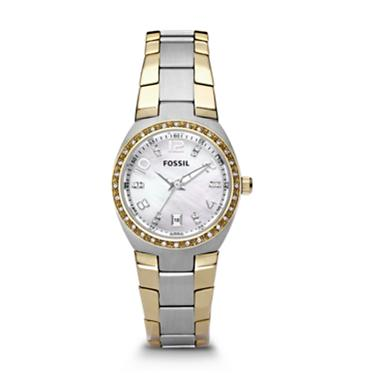 Fossil AM4183 Analog Silver Dial