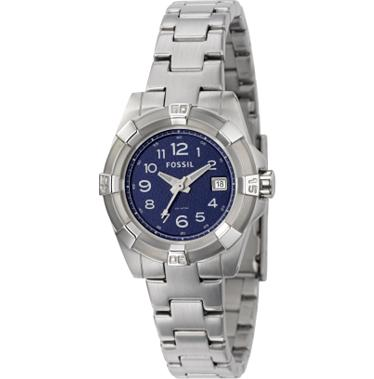 Fossil AM4227 Analog Blue Dial