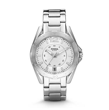 Fossil AM4233 Analog Silver Dial