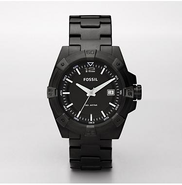 Fossil AM4234 Analog Black Dial