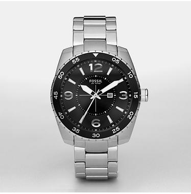 Fossil AM4237, Analogue Black Dial