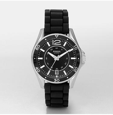 Fossil AM4264, Analog Black Dial