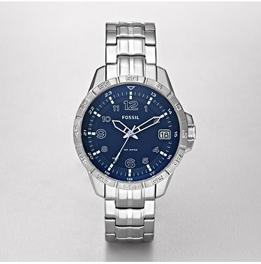 Fossil AM4276 Analog Blue Dial