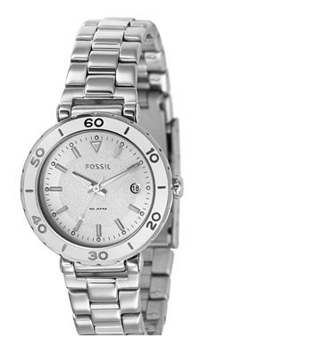 Fossil AM4279 Analog Silver Dial