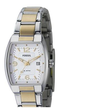 Fossil AM4291, Analogue Silver Dial