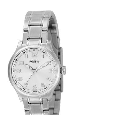 Fossil AM4295, Analog Silver Dial