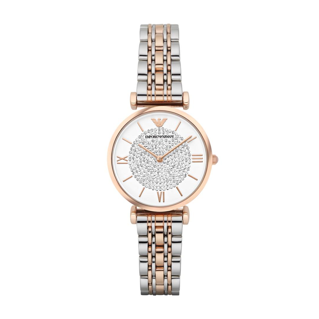 Armani Emporio Armani Women&Apos;S Two-Tone Watch Ar1926 Jewelry - AR1926-WSI