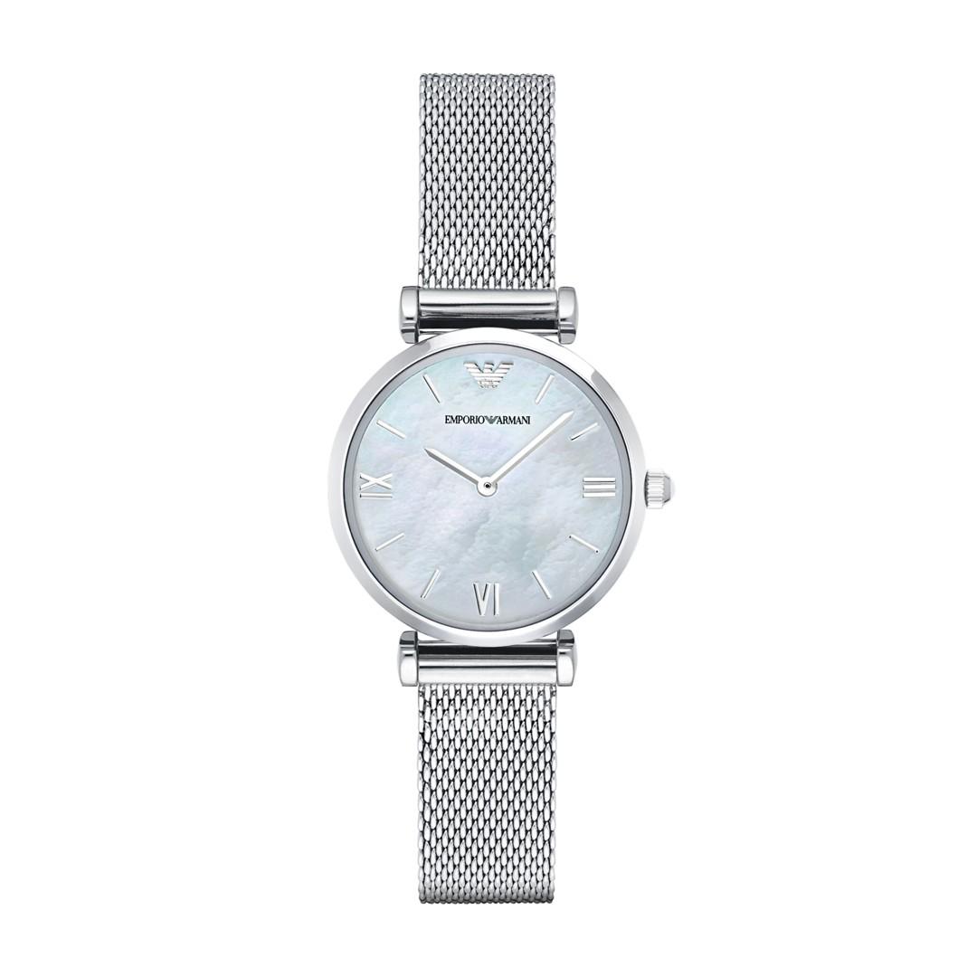 Armani Retro Watch Ar1955 Jewelry - AR1955-WSI