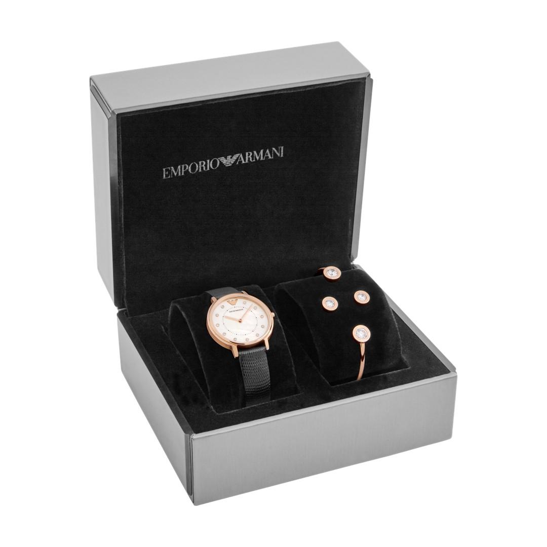 Armani Emporio Armani Women&Apos;S Dress Watch Gift Set Ar80011 Jewelry - AR..