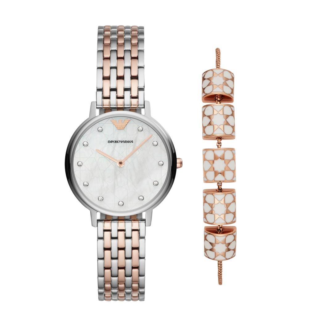 Armani Emporio Armani Women&Apos;S Dress Watch Set Ar80016 jewelry - AR80016..