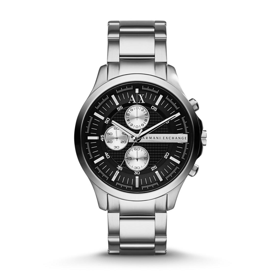 Armani Exchange A|X Men&Apos;S Stainless Steel Bracelet Watch Ax2152  - AX2152-WSI