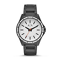 bcdff509b86 AX2625P. Compare · Quicklook · Armani Exchange · New - AIX Men s Three-Hand  Black Stainless Steel Watch.  220.00