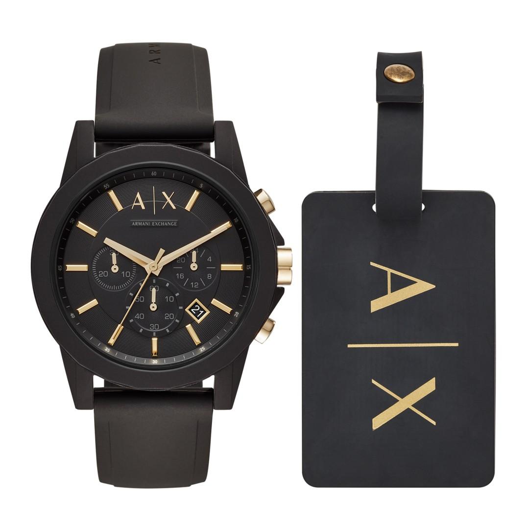 Armani Exchange Aix Men&Apos;S Gift Set Ax7105 Jewelry - AX7105-WSI