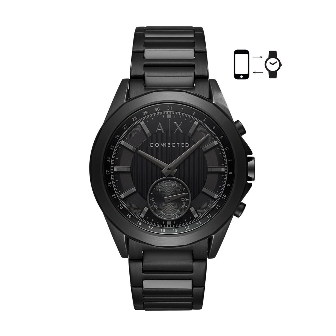 Armani Exchange Aix Men&Apos;S Hybrid Smartwatch Axt1007 Jewelry - AXT1007-WSI