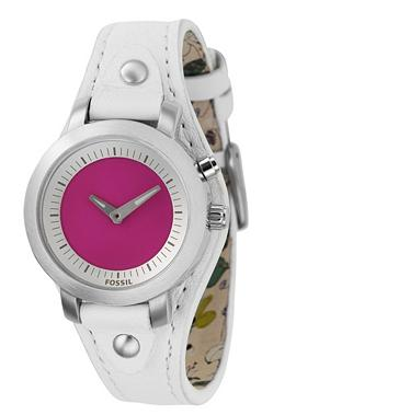 Fossil BG2200 Analog Pink Mirror Dial