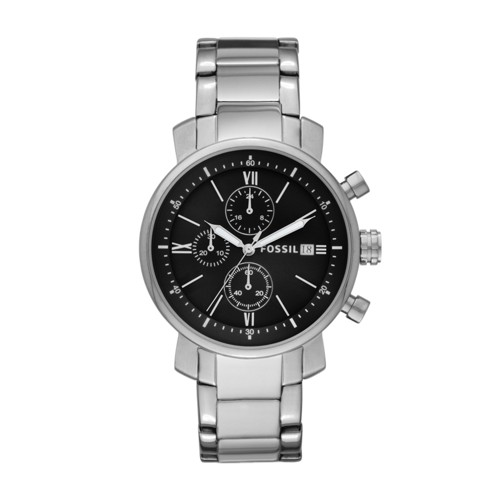 Rhett Chronograph Stainless Steel Watch BQ1000