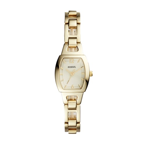 Fossil Isobel Three-Hand Gold-Tone Stainless Steel Watch BQ1067