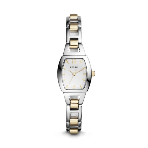 Fossil Isobel Three-Hand Two-Tone Stainless Steel Watch BQ1068
