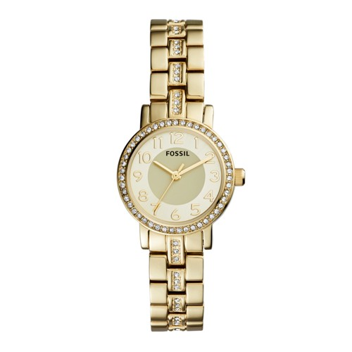Fossil Shae Three-Hand Gold-Tone Stainless Steel Watch BQ1428