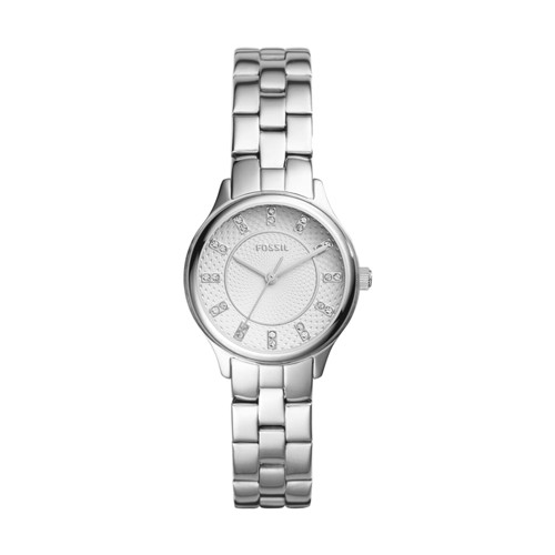 Modern Sophisticate Three-Hand Stainless Steel Watch BQ1570