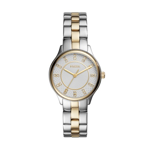 Modern Sophisticate Three-Hand Two-Tone Stainless Steel Watch BQ1574