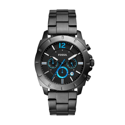 Privateer Sport Chronograph Smoke Stainless Steel Watch BQ2167IE