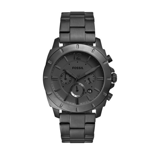 Fossil Privateer Sport Chronograph Black Stainless Steel Watch BQ2168IE