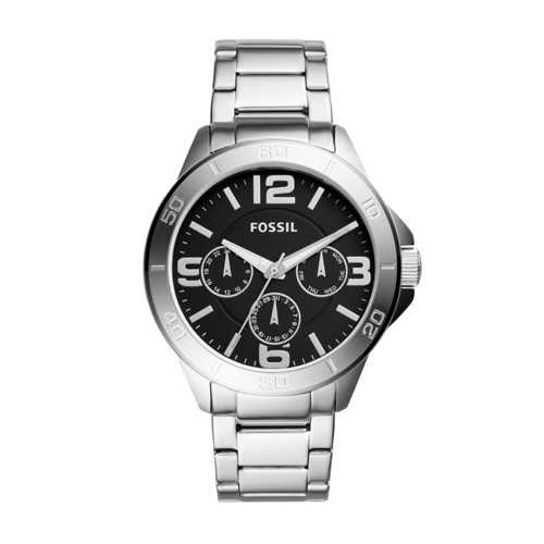 Fossil Modern Century Multifunction Stainless Steel Watch BQ2296