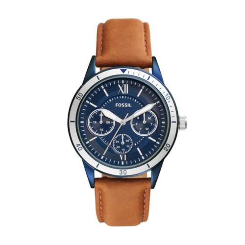 Fossil Flynn Sport Multifuntion Brown Leather Watch Bq2316