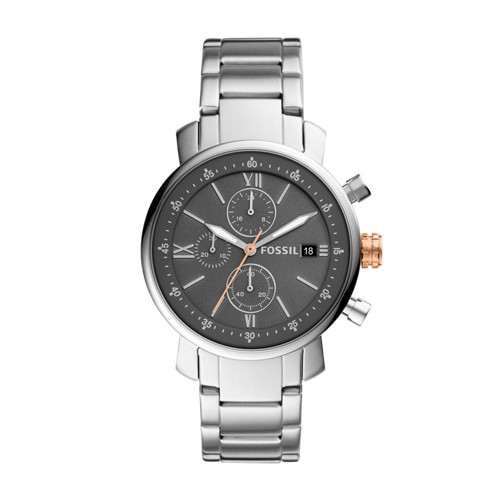 Fossil Rhett Chronograph Stainless Steel Watch BQ2318