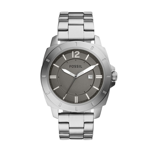 Fossil Privateer Sport Three-Hand Date Stainless Steel Watch Bq2320