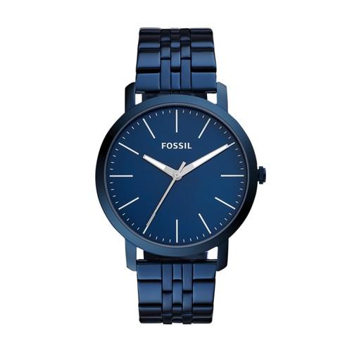 Luther Three Hand Ocean Blue Stainless Steel Watch BQ2324