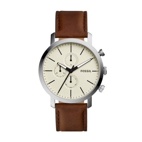 Fossil Luther Chronograph Brown Leather Watch BQ2325IE