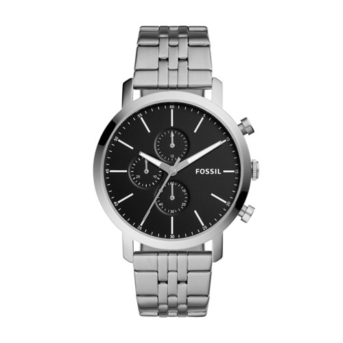 Fossil Luther Chronograph Stainless Steel Watch  Jewelry