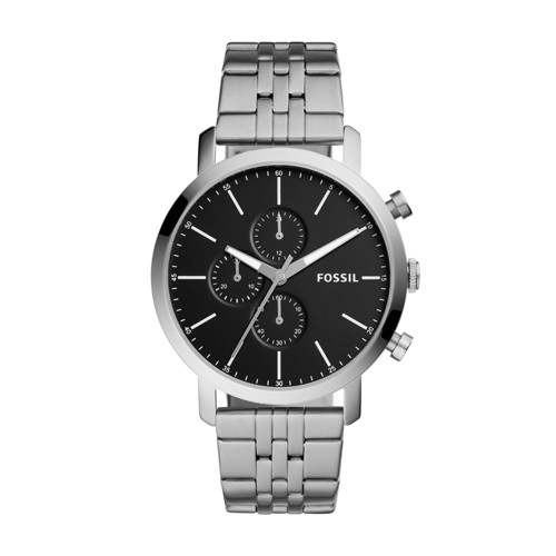 Fossil Luther Chronograph Stainless Steel Watch Bq2328