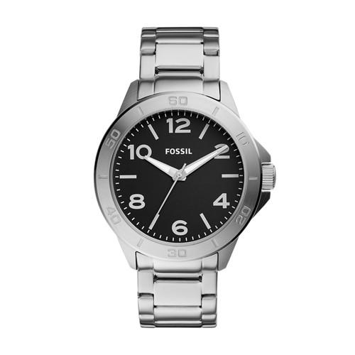 Fossil Modern Century Three-Hand Stainless Steel Watch BQ2331
