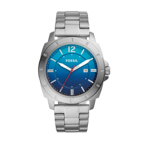 Fossil Privateer Sport Three-Hand Stainless Steel Watch BQ2344