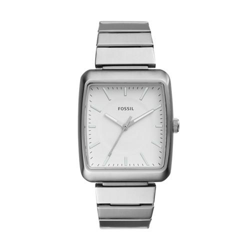 Fossil Heathcliff Three-Hand Stainless Steel Watch BQ2352