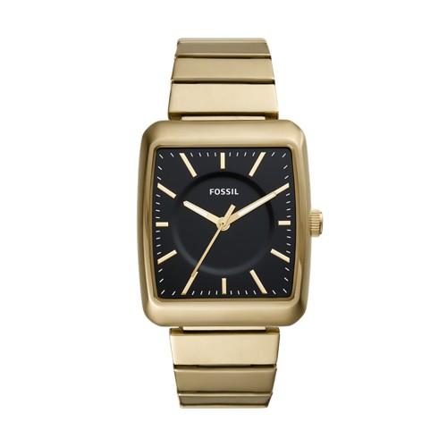 Fossil Heathcliff Three-Hand Gold-Tone Stainless Steel Watch BQ2353