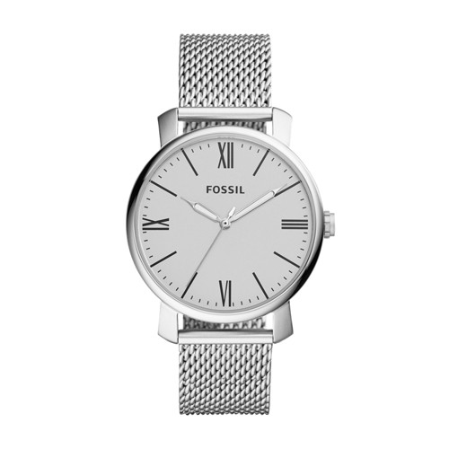 Fossil Rhett Three-Hand Stainless Steel Watch BQ2367