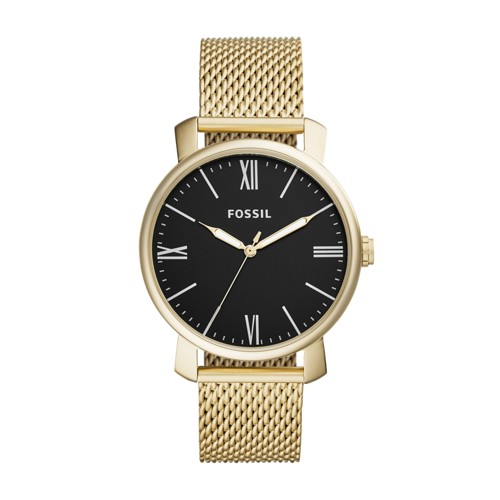 Fossil Rhett Three-Hand Gold-Tone Stainless Steel Watch BQ2368