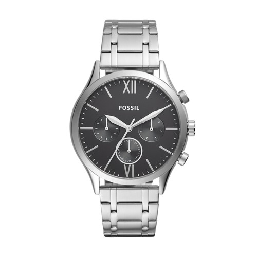 fossil Fenmore Midsize Multifunction Stainless Steel Watch BQ2406