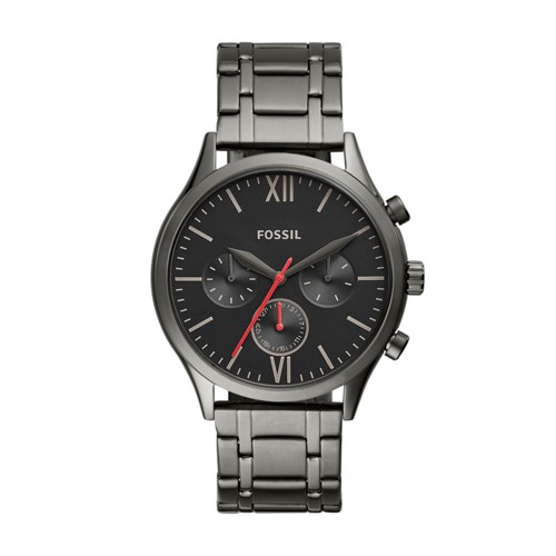 Fenmore Midsize Multifunction Smoke Stainless Steel Watch BQ2408