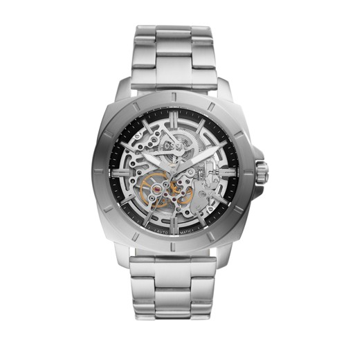 fossil Privateer Sport Mechanical Stainless Steel Watch BQ2425