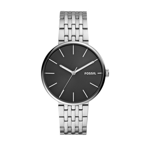 fossil Hutton Three-Hand Stainless Steel Watch BQ2439